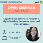 Open Seminar - Juliana do Amaral